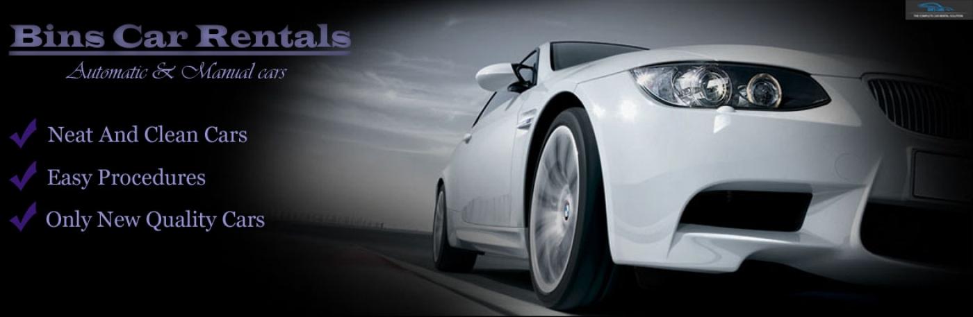 Bins Rent A Car Kerala Car Rental Service Automatic Manual Cars